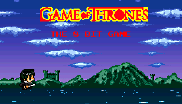 Game of Thrones 8-bit Fan-Made Platformer
