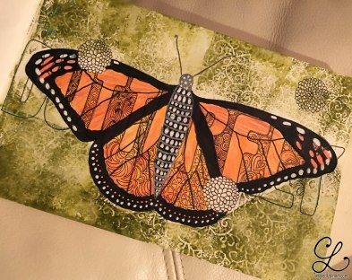 After tangling the wings, it still just looks striped and the layers make no sense.