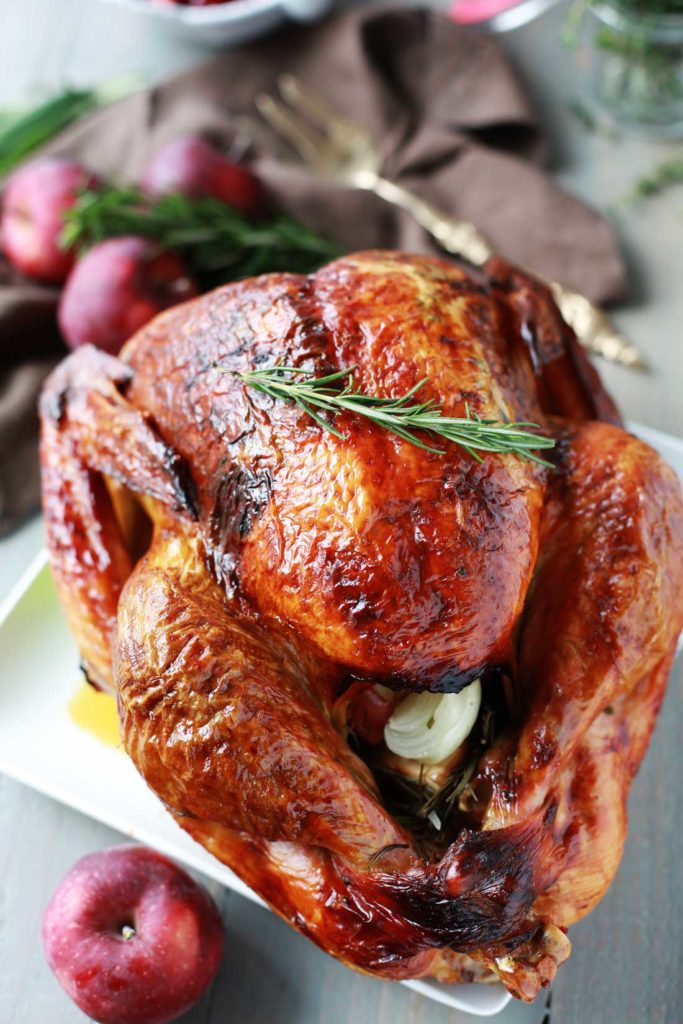 Herb-Scented Roast Turkey