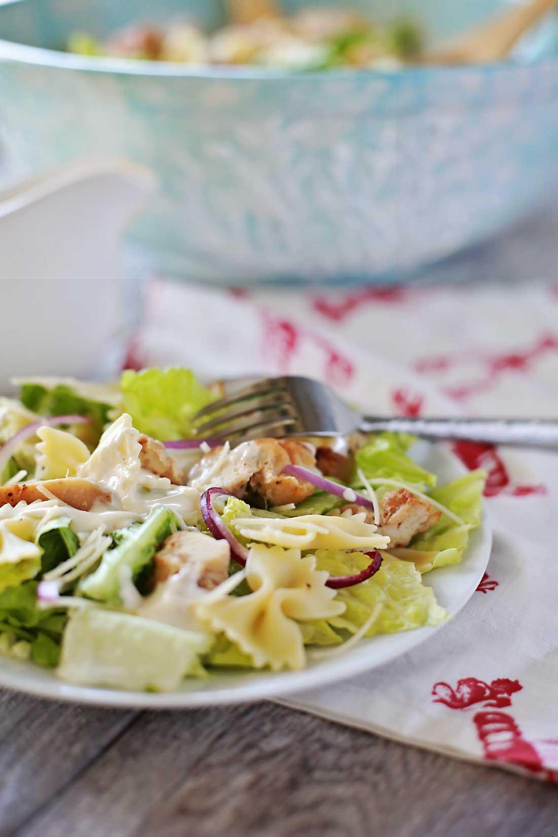 Super wonderful Grilled chicken caesar salad!!!