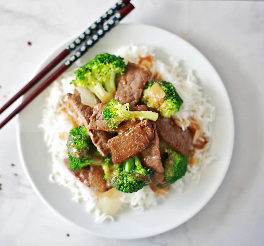 Easy and delicious, better than take out, beef and broccoli recipe by Flirting with Flavor