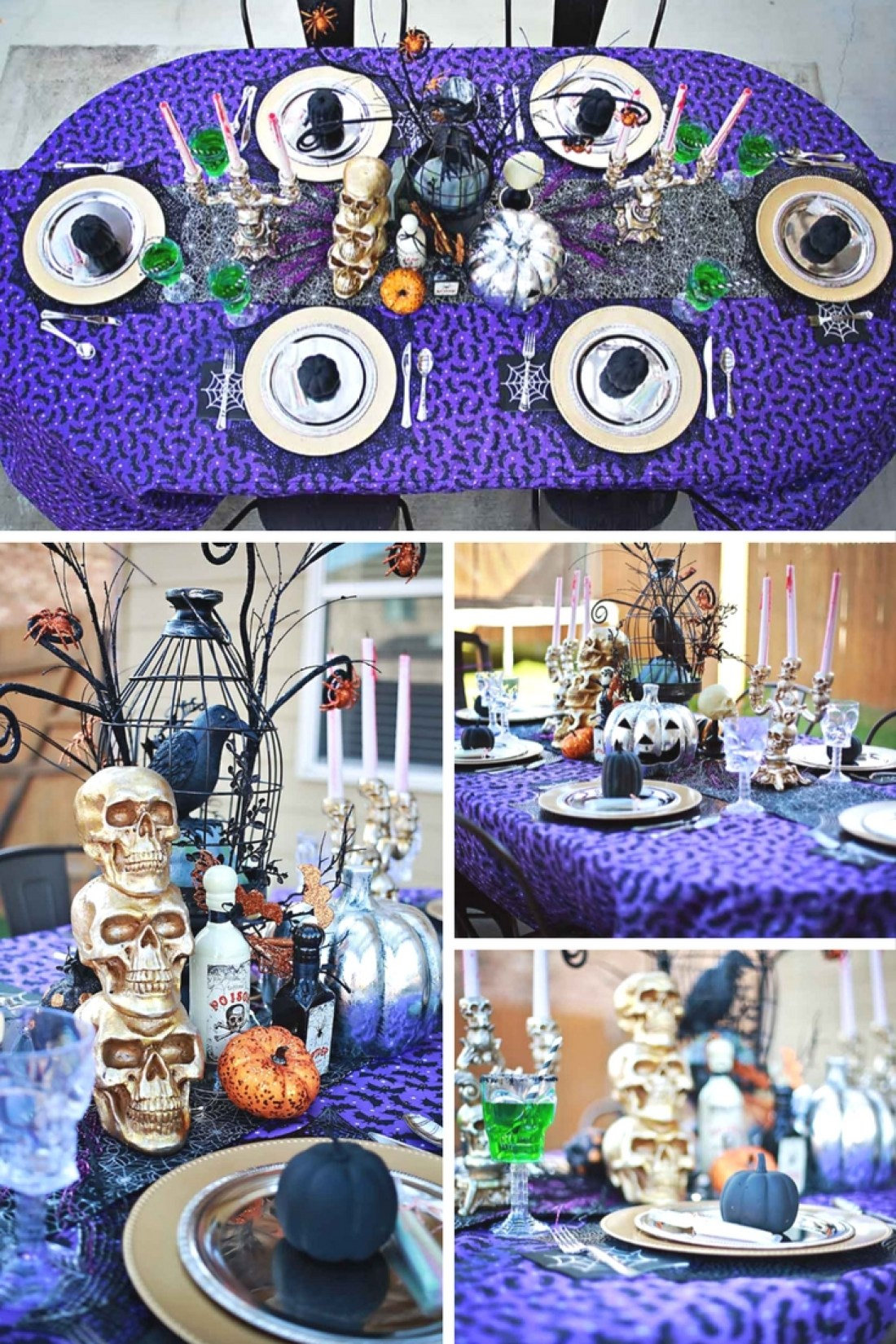 Fun decor that's easy to recreate for the ultimate kids halloween party