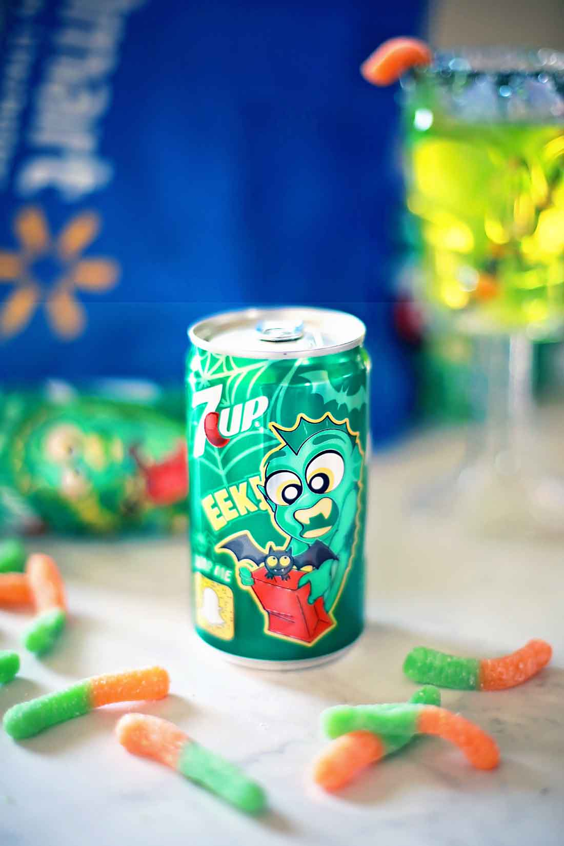 &UPCanada Dry® Monster cans for a fun halloween bash!