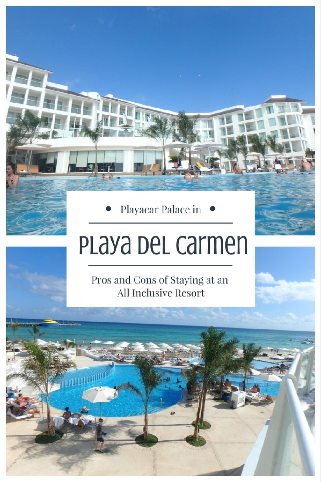 Playacar Palace in Playa Del Carmen review