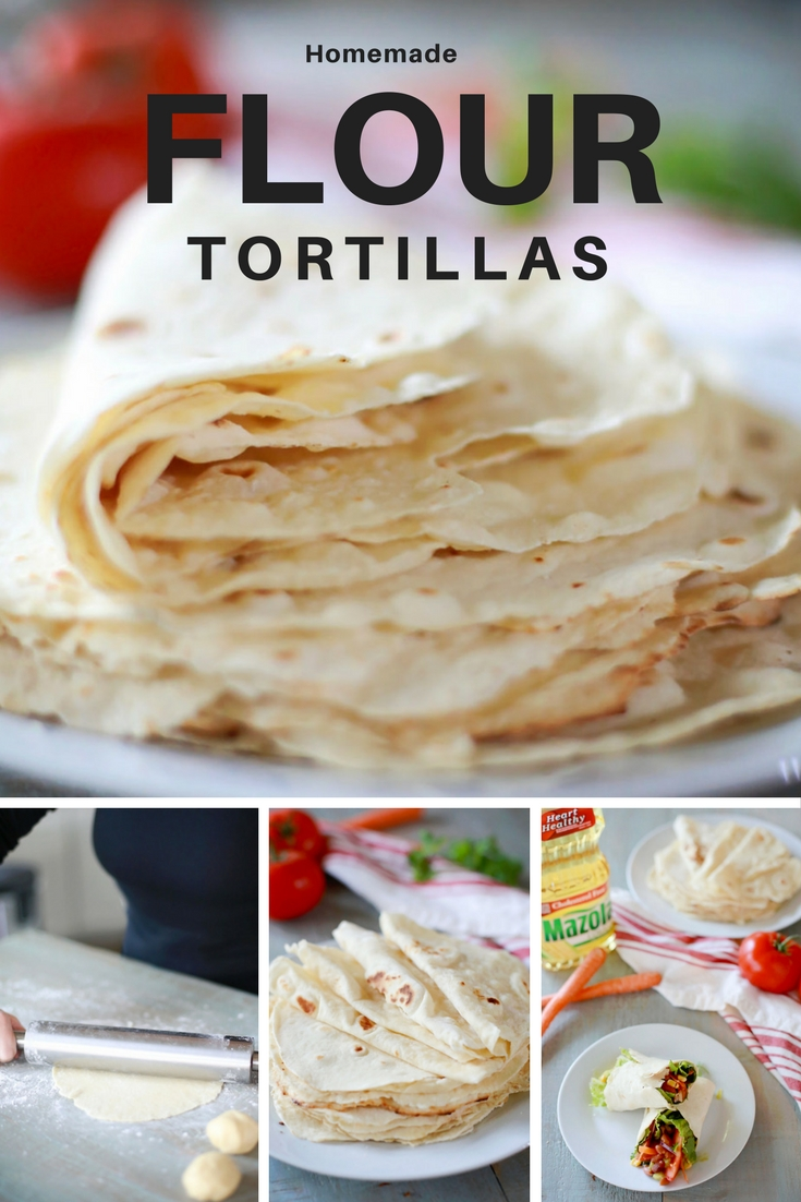 Easy homemade flour tortillas using Mazola® cooking oil in place of lard for a healthier, yet still soft and delicious flour tortilla from scratch.
