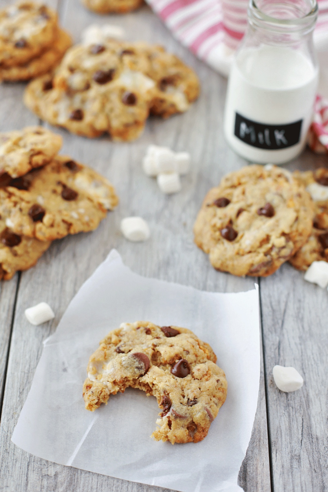 Marshmallow cookies recipe