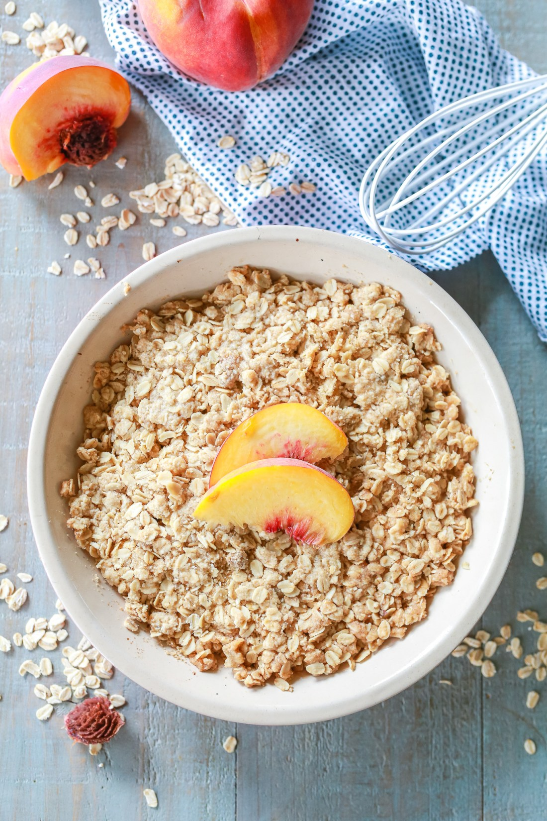 Best Peach Crisp recipe ever!!!