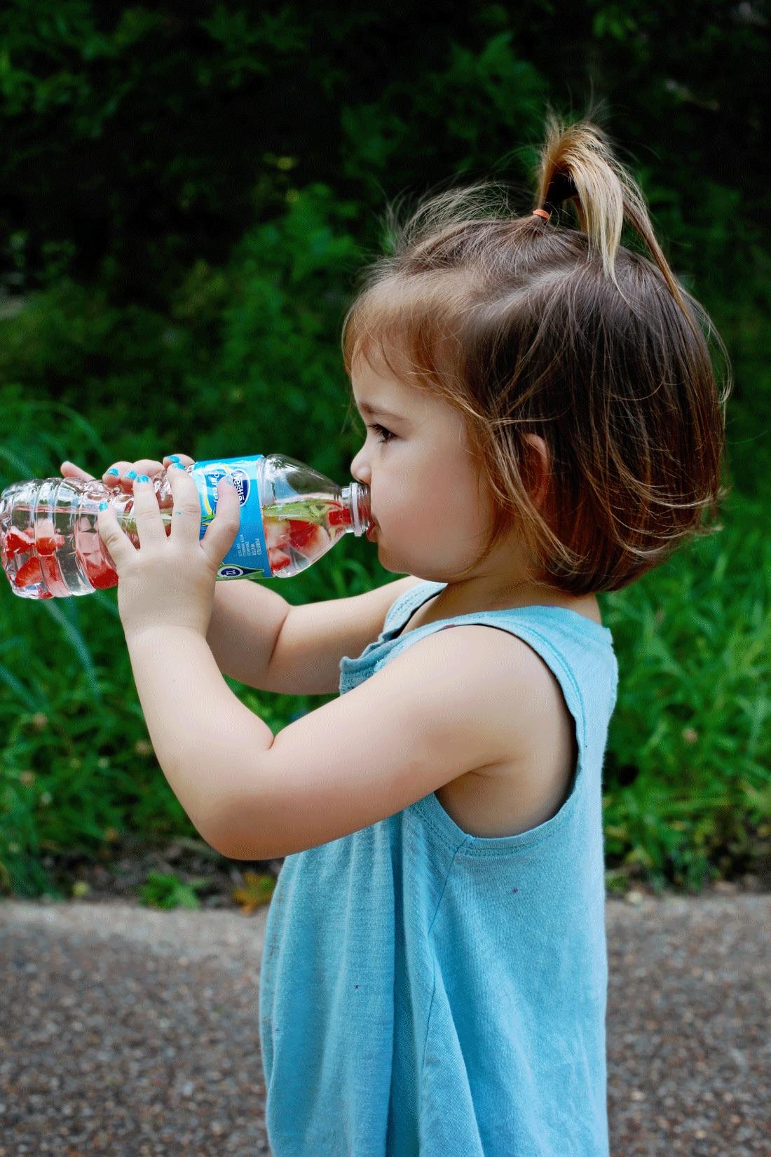 Fruit water kids will like!