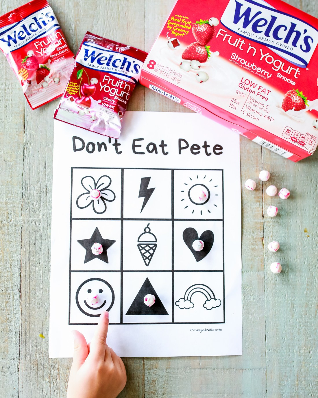 3 free printable for Don't Eat Pete game!