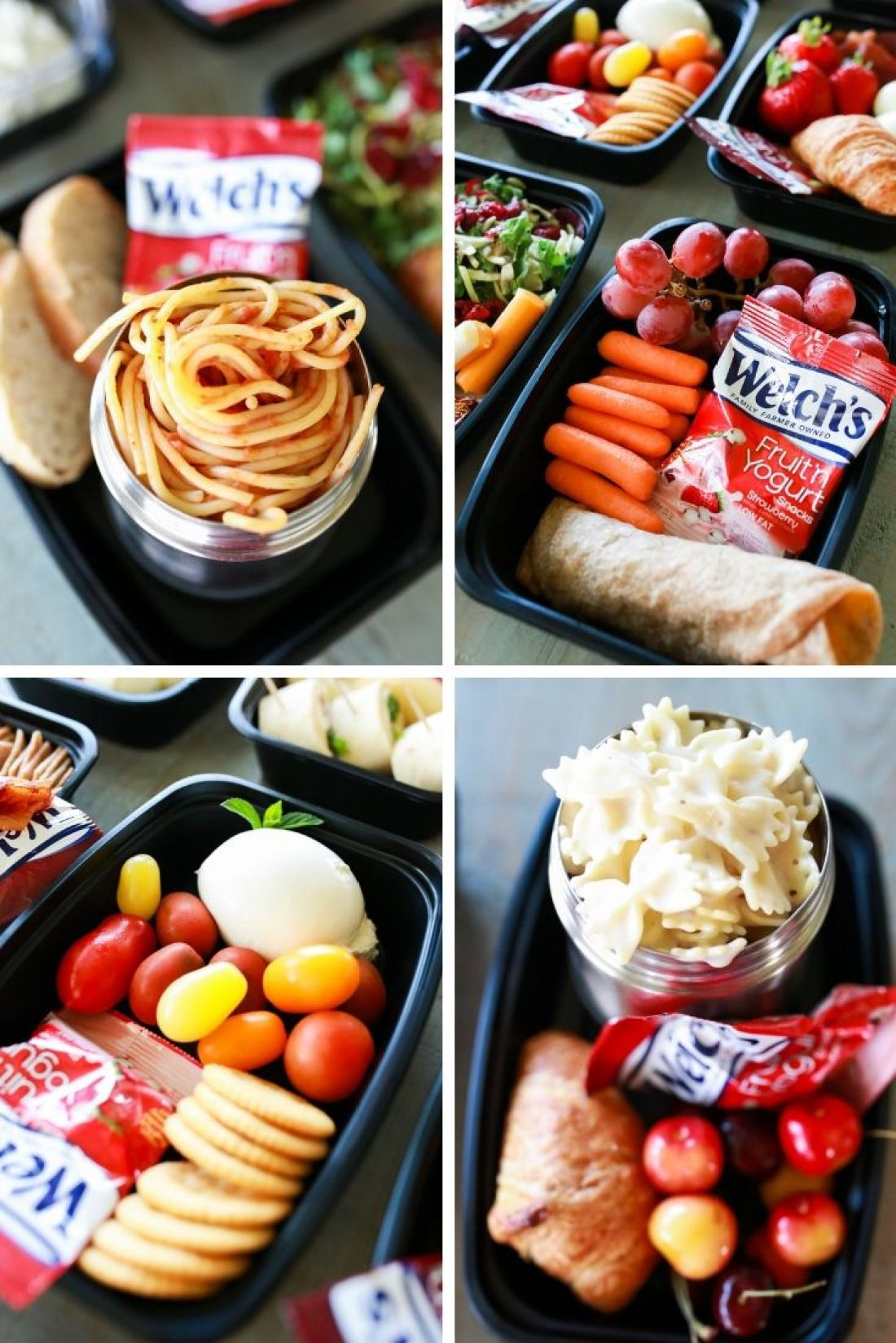 Ten outside the typical sandwich kid-friendly School Lunch Box ideas for the picky kiddo, the allergy prone, and the one that's getting sick of a sandwich every day!