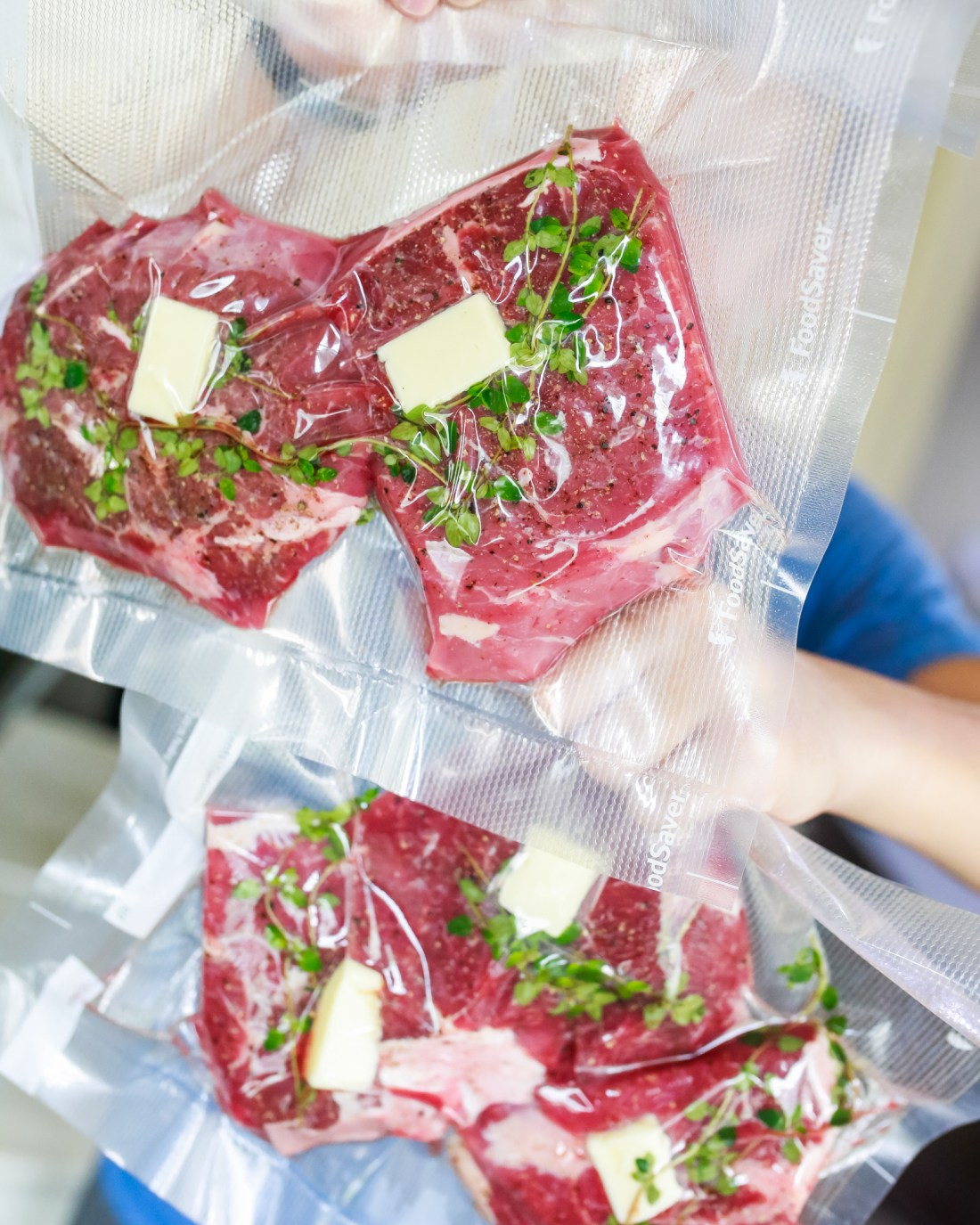 How to seal the bag when cooking sous vide