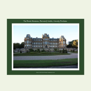 Bowes Museum photo print