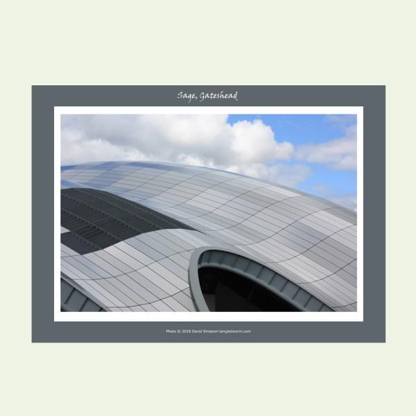 Sage Gateshead A3 print