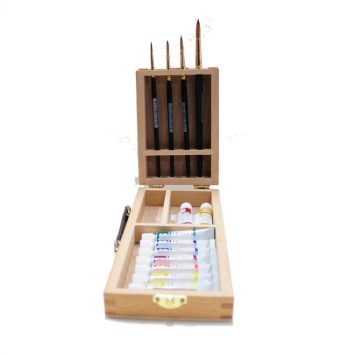 Art Spectrum Travel Watercolour Box Set with Travel Brushes - copia