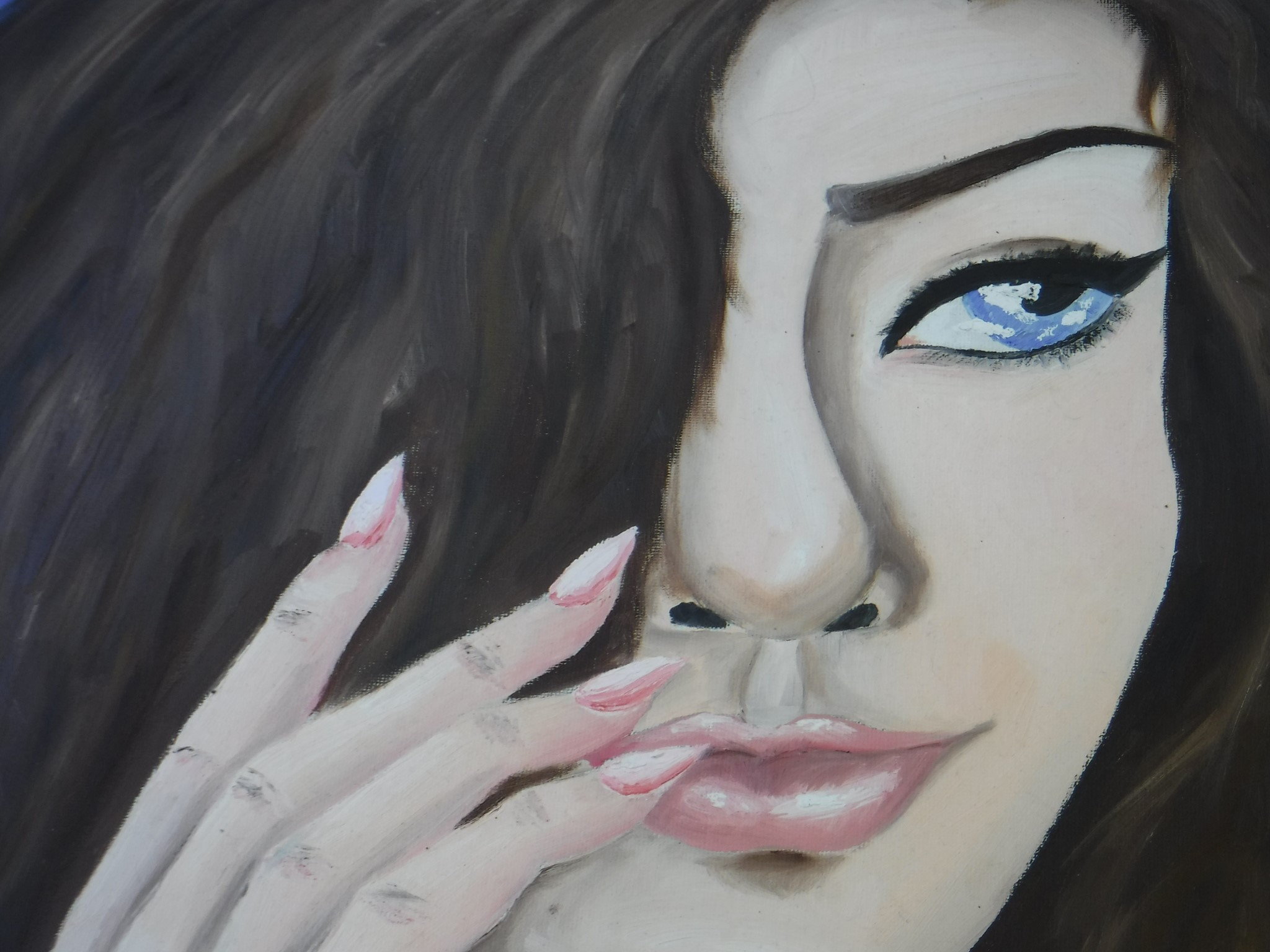 Madeline – Self Portrait in Oil
