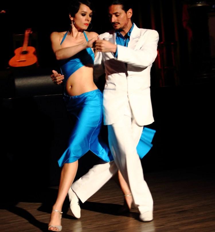 Tango Muenchen Galerie - Tangopose Fabian y Michaela