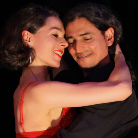 Tango München, Fabian und Michaela in genussvoller Umarmung