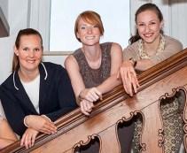 Marcia Jankwitz , Daniela Knuth, Jana Behrens, Juliane Weigel (stellv. CDU Kreisvorsitzende in Kiel)