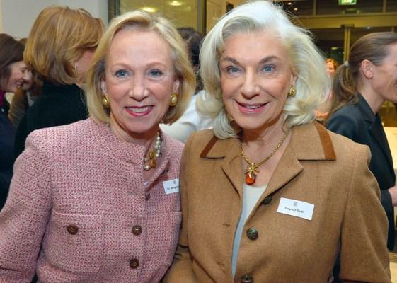 Dr. Brigitte Klapp und Dagmar Guth