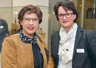 Prof. Dr. Anette Uphaus-Wehmeier und Heidi Gerken