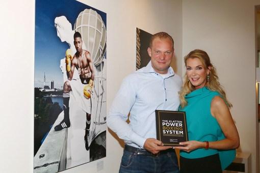 Moritz Klatten und Kirsten Roschlaub