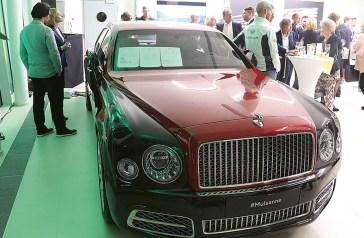 'Stargast' des Abends: Der neue Bentley »Mulsanne«
