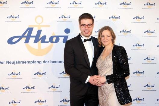 Ahoi 2018_Ruder-Olympiasieger ERic Johannesen mit Kaja Brecht
