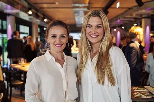 Ina Menzer und Nina Braack