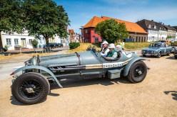 Otto-F. Wachs und Dirk Conradt im Bentley 3,8 Racer (1950)