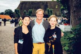 Vanessa Wang, Moritz Graf zu Reventlow und Marlene Brüggen