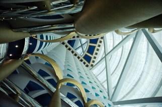 Inside the Burj Al Arab Hotel in Dubai