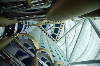 Inside the Burj Al Arab Hotel in Dubai