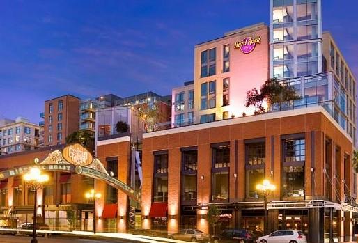 The Hard Rock Hotel in San Deigo
