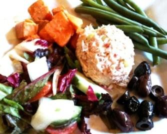 A tasty tuna nicoise salad