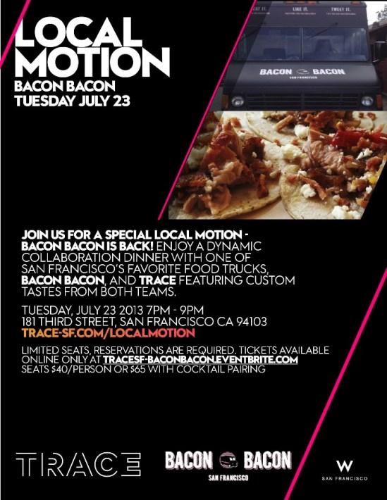 Local Motion- Bacon Bacon