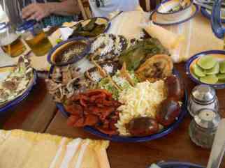 Taditional Qaxacan cuisine