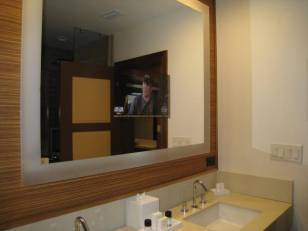 Bath Mirror TV