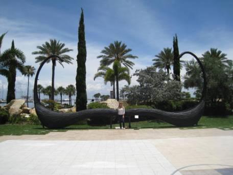 Dali Museum Garden Mustache
