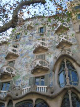 Casa Batllo Exterior Close Up