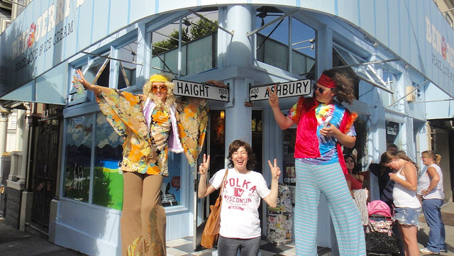 tourism, haight, ben and jerrys, hippy,