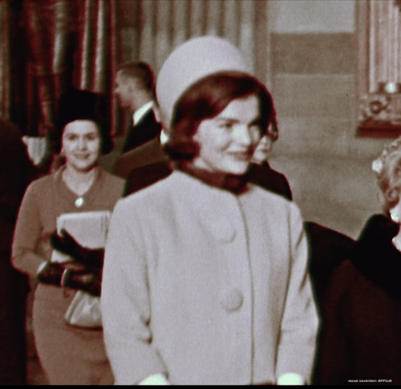 Jackie Kennedy, pillbox hat, fashion, Halston,