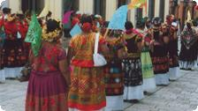 A street procession.