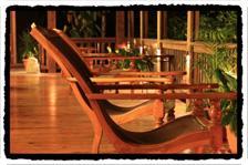 Deck at Pico Bonito Lodge