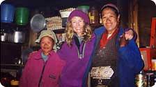 Tea House Hostesses, Himalayas