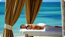 Couples massage at the Westin Resort