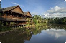 Outside of Sepilok nature Resort
