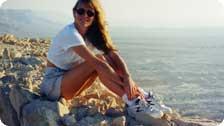 On Masada Israel