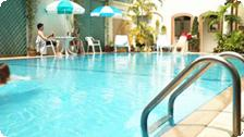 The Viengtai Hotel pool.