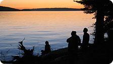 Sunset on Blackberry Point on Valdes Isl