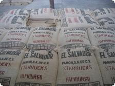 Bags of Coffee at Ataco Cafe Finca